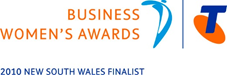 Moving On a Finalist in the Telstra Womens Business Awards